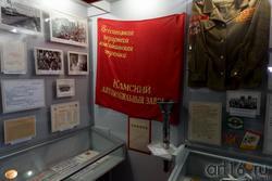 Фрагмент экспозиции «Всесоюзная ударная комсомольская стройка»