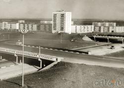 Фото: Один из первых 12-этажных домов в пос. Гидростроителей (7/3), 1970 -е