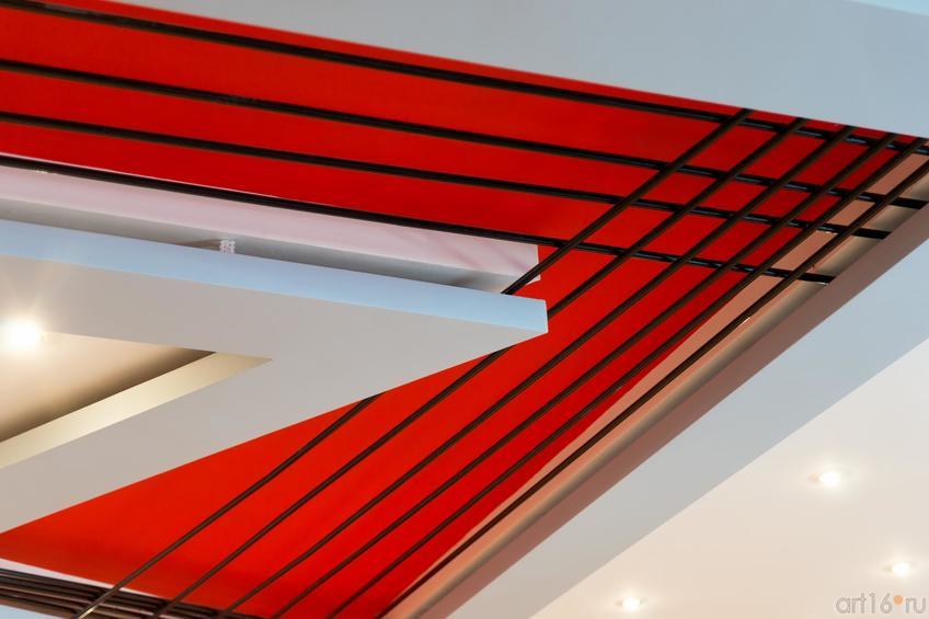 Фото №883294. Оформление потолка в Центре творческого наследия Высоцкого