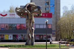 Дерево жизни. Скульптор Ильдар Ханов, 1984 г.