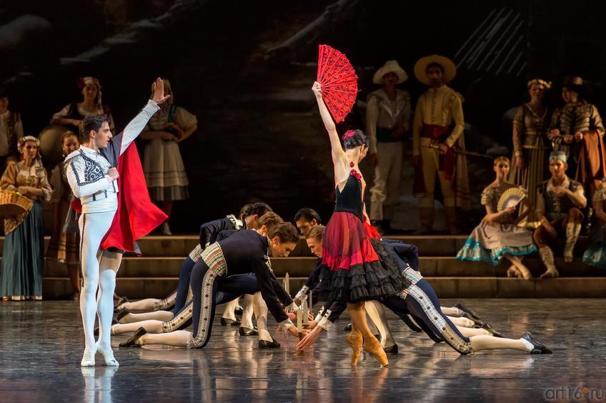 Тореадор и танцовщица::Дон Кихот