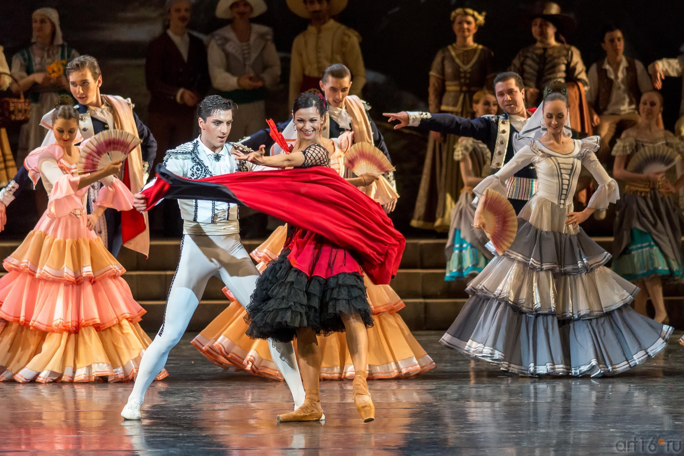 Тореадор и уличная танцовщица::Дон Кихот