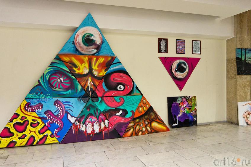 Фото №88625. Граффити на фестивале ''ТРИПФЕСТ-2011''