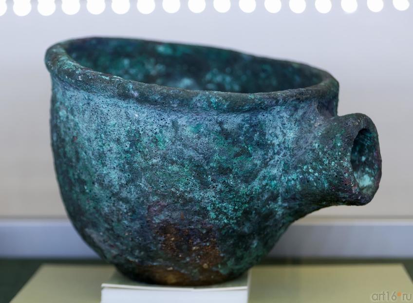 Жаровня (VI-Vвв. до н.э.)::Выставка «Кочевники Аркаимских степей»