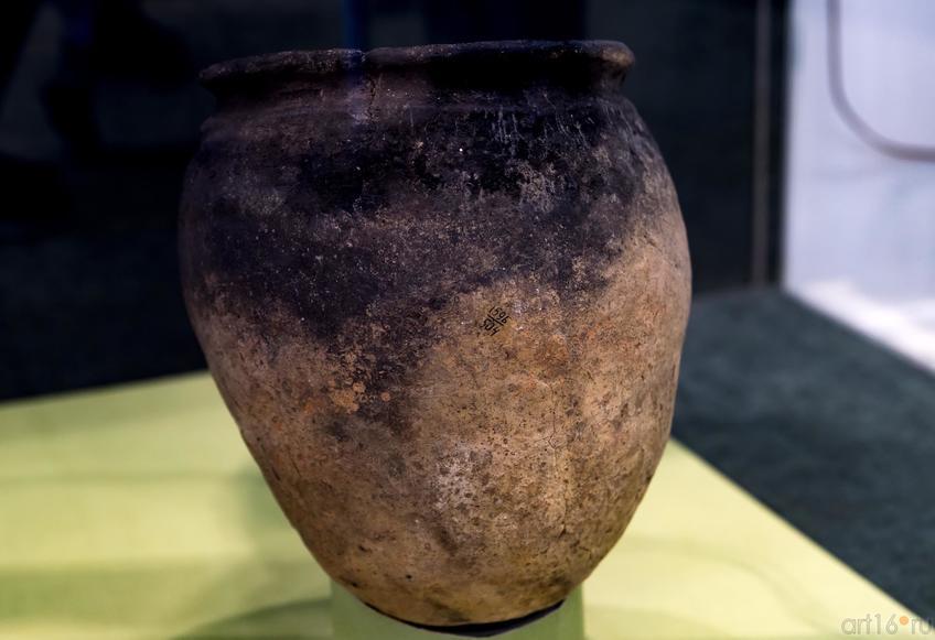 Сосуд::Выставка «Кочевники Аркаимских степей»