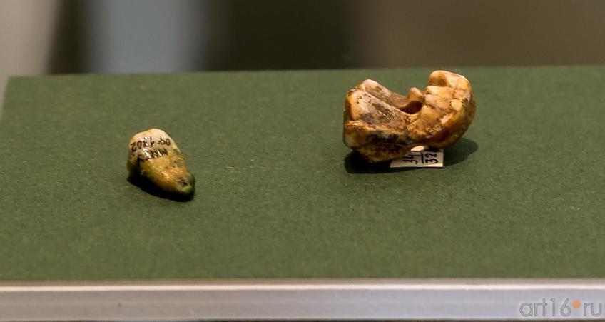 Амулеты (VI-V вв. до н.э.)::Выставка «Кочевники Аркаимских степей»