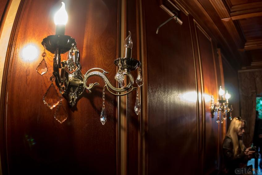 Фото №886890. Бра.  Зальное помещение, 2 этаж, дом Банарцева