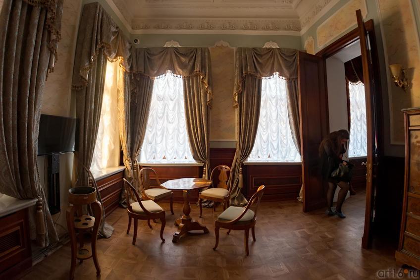 Фото №886894. Зеленая гостиная. Дом Банарцева