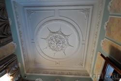 Потолочная лепнина в Зеленой гостиной. Дом Банарцева