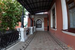 Терасса, расположенная на 2-ом этаже Дома Банарцева