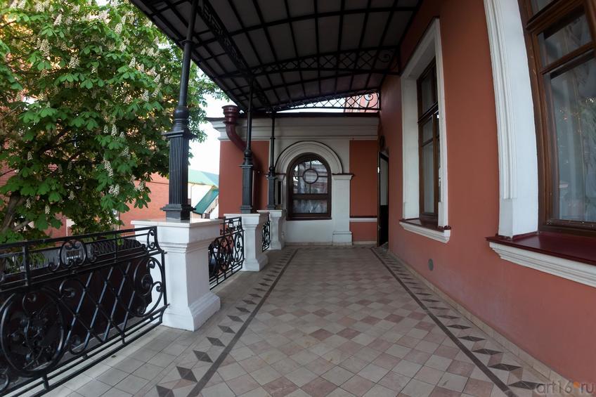 Терасса, расположенная на 2-ом этаже Дома Банарцева::19.05.2016 Экскурсия ASG