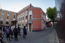 Дом Банарцева, К.Маркса 18, Казань. Вид на дом со двора