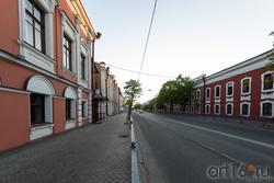 Ул. К. Маркса (д. 16 и д. 17) Дом Александрова и здание Адмиралтейской конторы