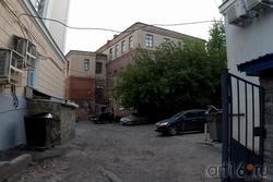 Здание во вдворе общежития КАИ №1, когда то входившее в  архитектурный ансамбль Богородицкого монастыря
