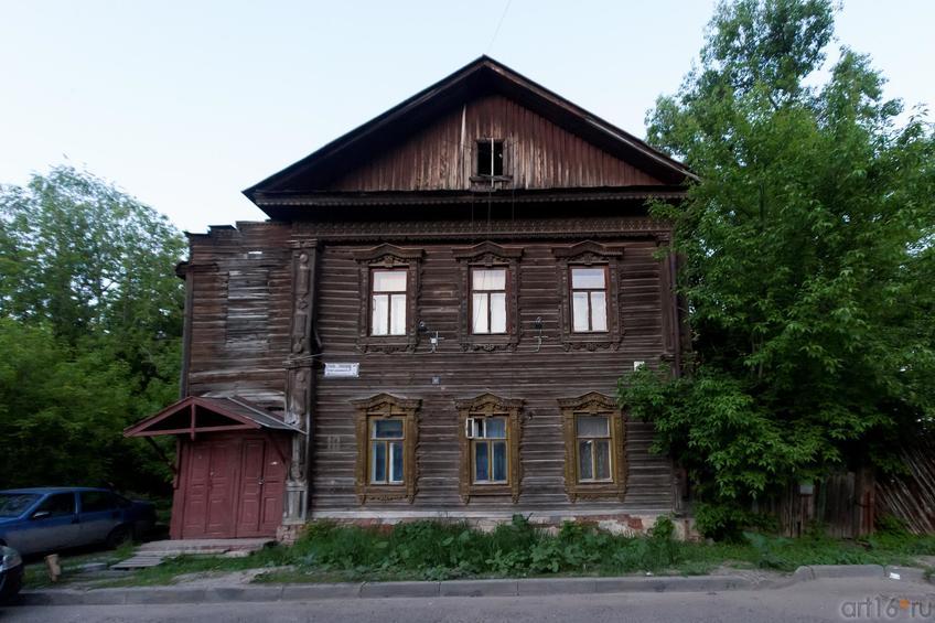 Жилой деревянный дом (ул. Космодемьянской, 10)::19.05.2016 Экскурсия ASG