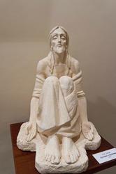 Христос в пустыне. 2004. А.Леонов