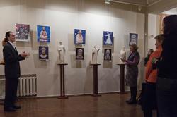 Алексей Леонов  Экскурсия по экспозиции выставки ''Молитва в скульптуре''