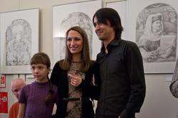 Булат Гильванов. Фото с открытия выставки НМ РТ, 2011.12.14
