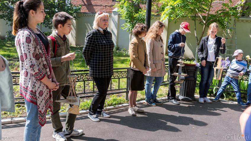 Фото №889552. Ученики Детской архитектурно-дизайнерской школы при КГАСУ «ДАШКА»
