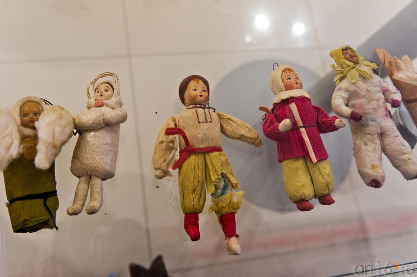 Фото №88985. Такими игрушками украшали Новогоднюю елку до революции