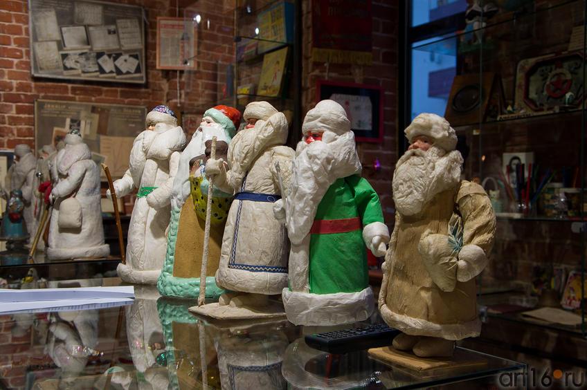 Фото №89010. Деды Морозы,  ручного производства