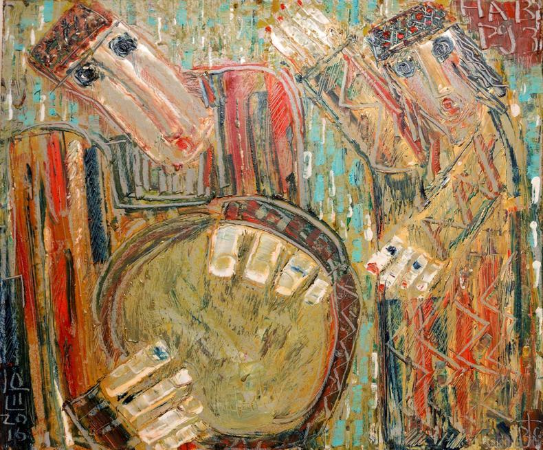 Навруз. 2016. Виктор Тимофеев::Виктор Тимофеев. Выставка «Пора тополиного пуха»