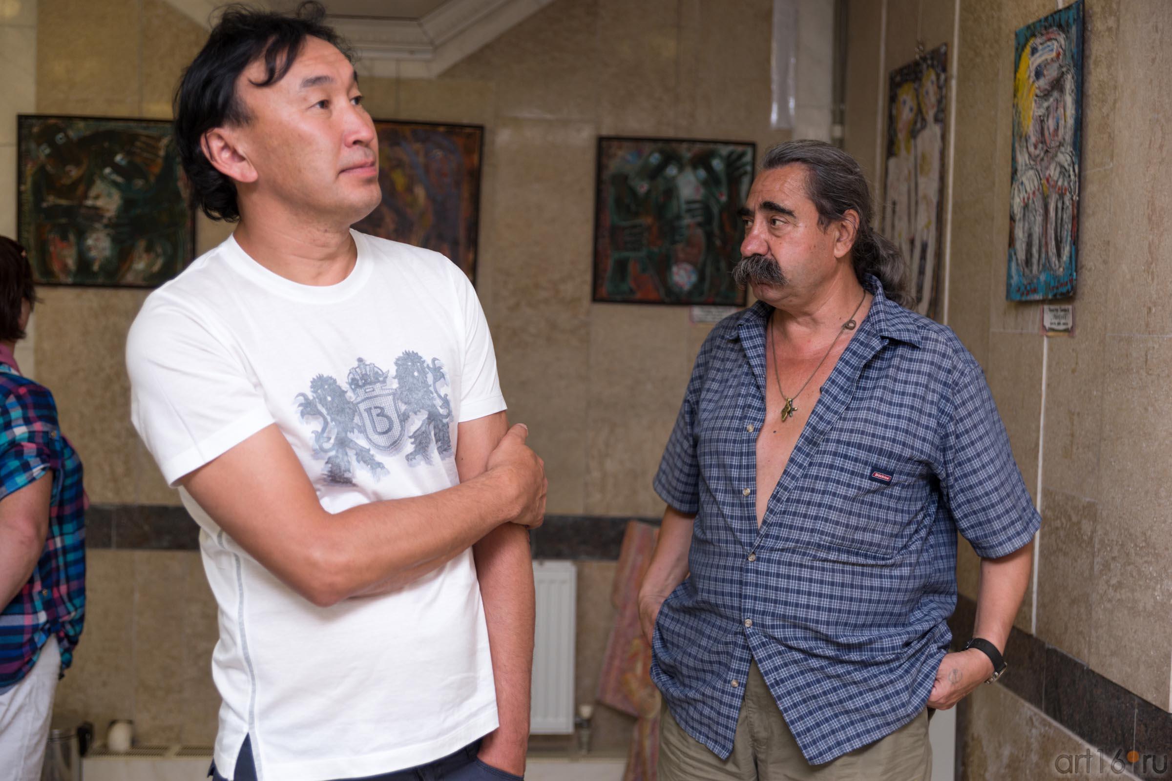 Даши Намдаков, Виктор Тимофеев::Виктор Тимофеев. Выставка «Пора тополиного пуха»