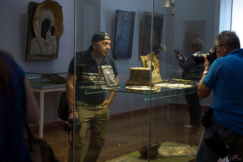 ::Чудотворный Казанский образ Богоматери. Казанский Богородицкий монастырь. Выставка