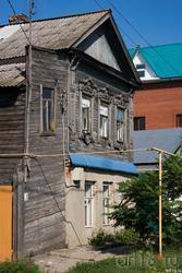 Деревянные дома Сызрани