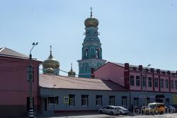 Купола и колокольня Казанского собора, Сызрань