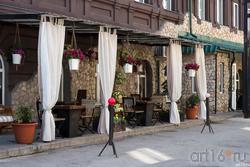 Уличное кафе  в центральной части Сызрани