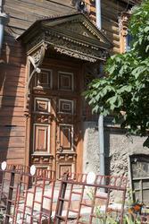 Пример деревянного зодчества в Сызрани. Пролетарский переулок, 51