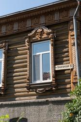 Фрагмент дома. Окно. Пролетарский переулок, 51
