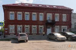 Кирпичный дом в Пролетарском переулке, г.Сызрань , На углу с Ульяновской ул.