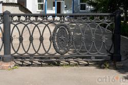 Решетчатый забор. Сызрань