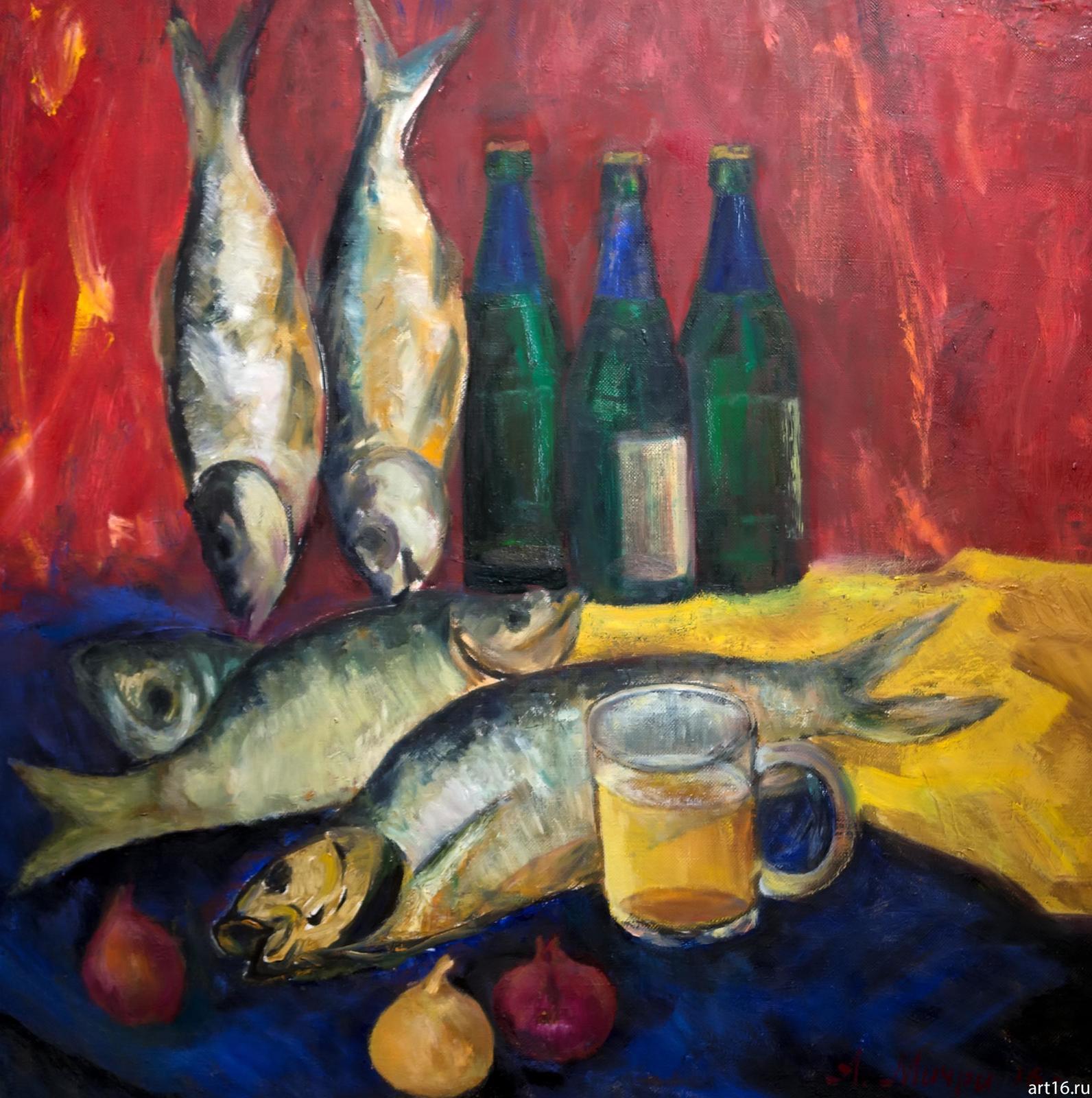 Фото №892946. Натюрморт с рыбой. Мичри А.И. 1934