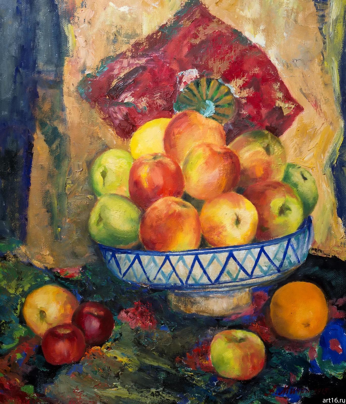Фото №892954. Натюрморт с яблоками. Мичри А.И. 1934