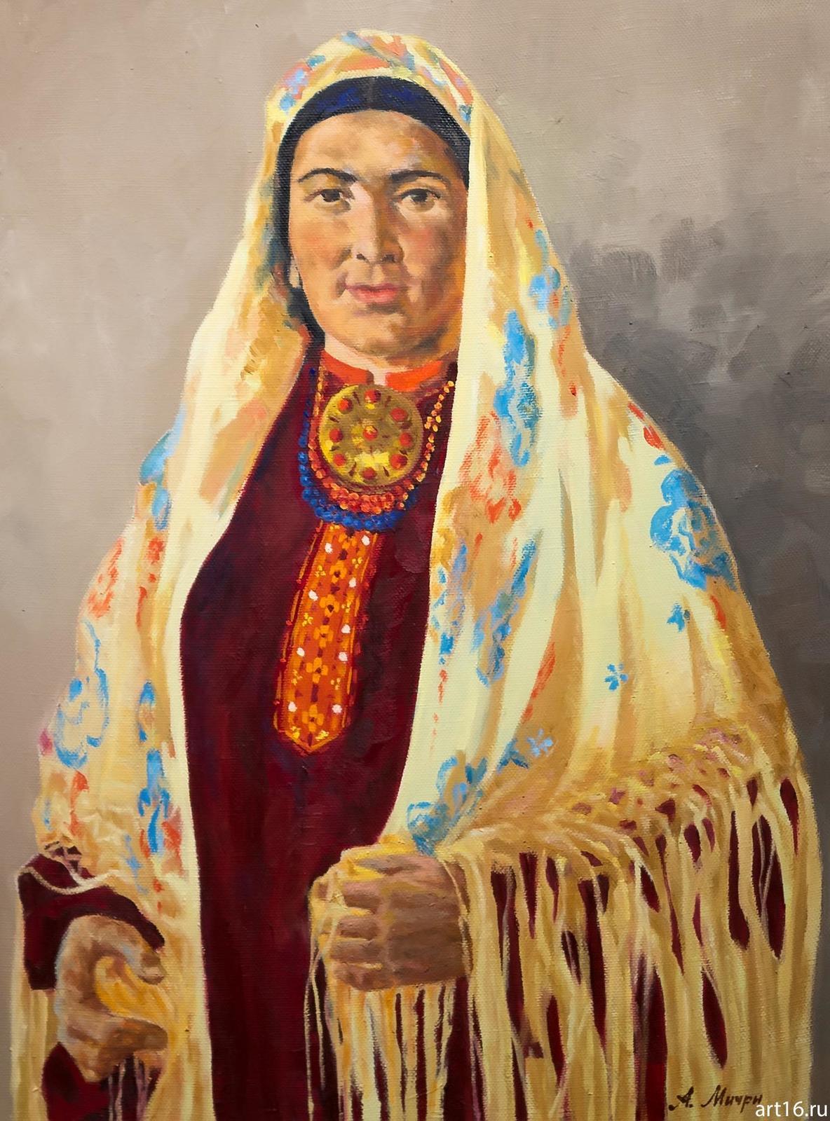 Фото №892986. Туркменка. Мичри А.И. 1934