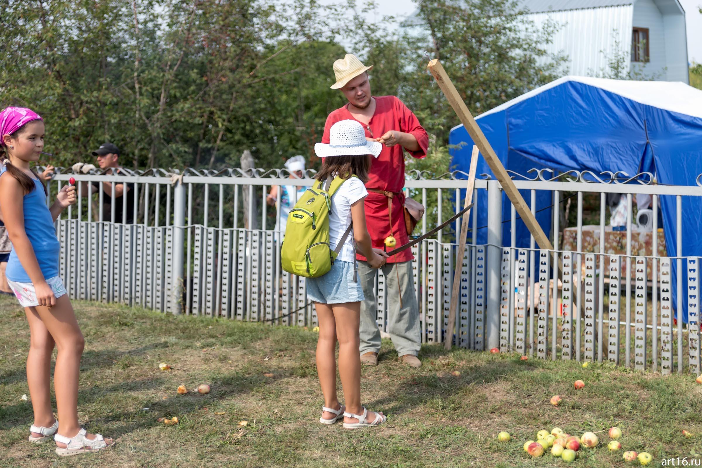 ::Яблочный спас в Красновидово. 2016
