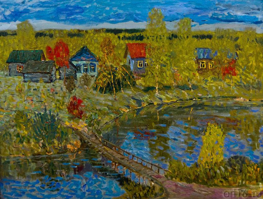 Крутушка. 1981 Индюхов Н.П. 1923-2009::Союзу художников Республики Татарстан — 75
