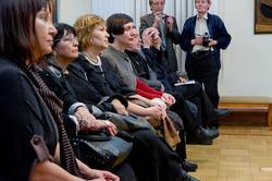 Торжественная часть в честь открытия выставки, посвященной юбилею СХ РТ