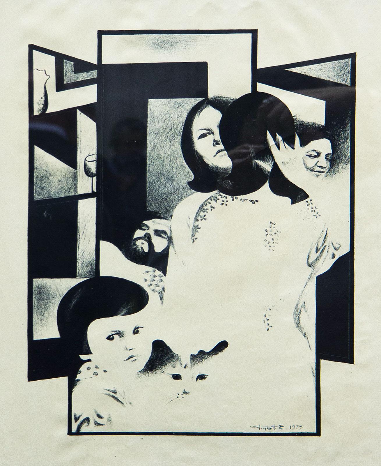 Фото №89466. Моя семья. 1975. Голубцов Е.Г. 1949