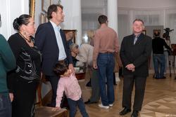 Барон Александр Николаевич фон Гревениц, потомок Пушкина  с сыном/ Черепанов Михаил Валерьевич