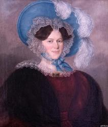 Александра Андреевна Фукс. 1830-е. Л.Крюков