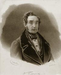 Владимир Иванович Панаев, поэт-идилик и чиновник, казанский дворянин. Литография