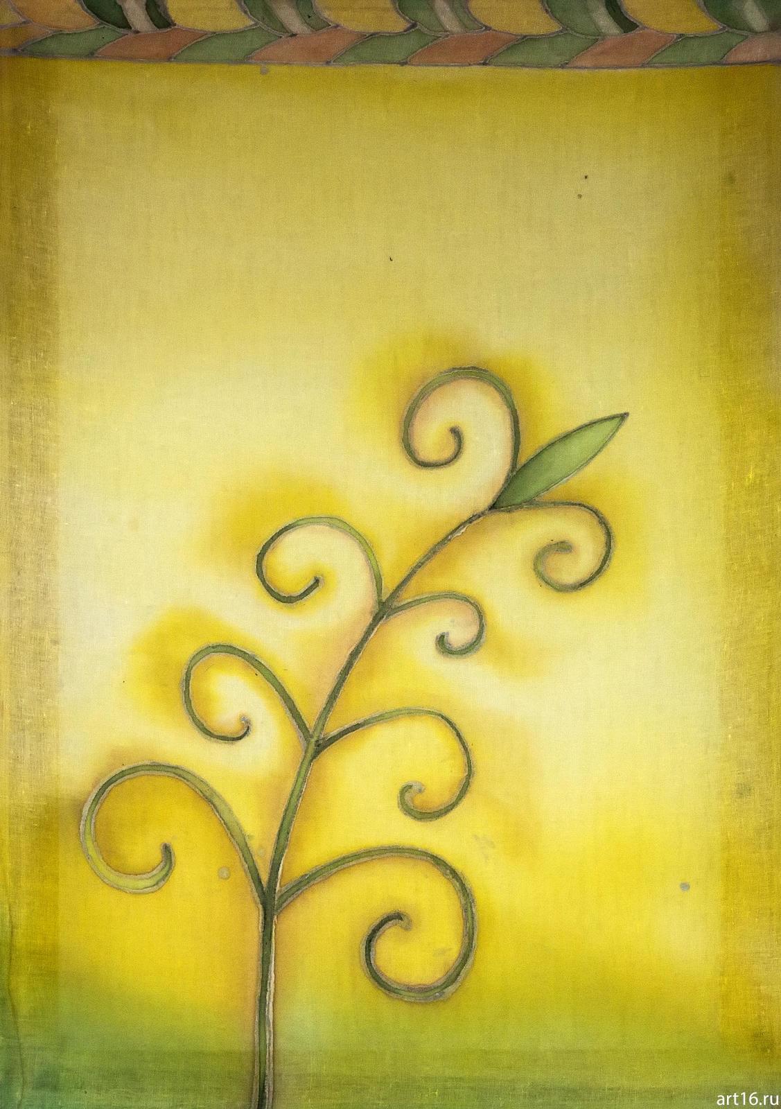 Фото №894870. Батик «Травинка», Нина Кузьминых, 1956