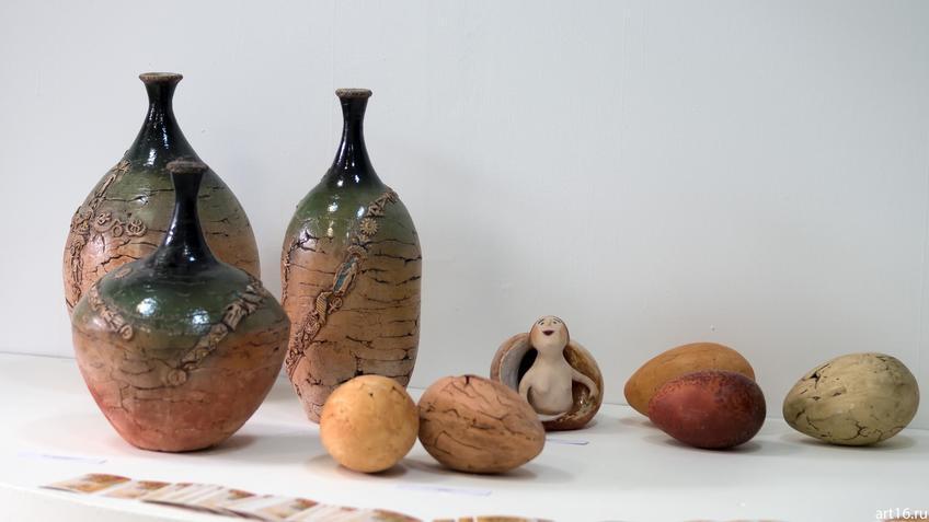 Фото №894934. Кувшины, яйца и «Весна пришла». Нина Кузьминых, 1956