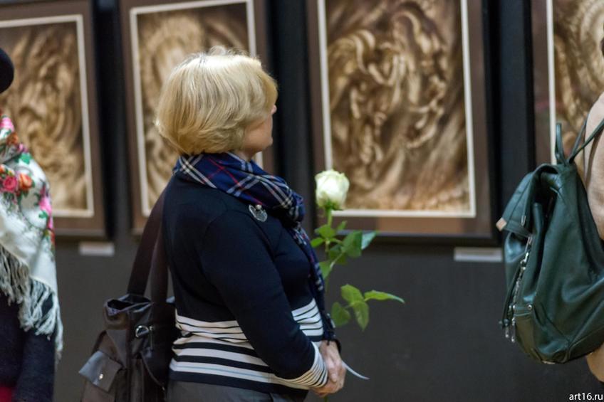 Фото №895056. На открытии выставки Надира Альмеева