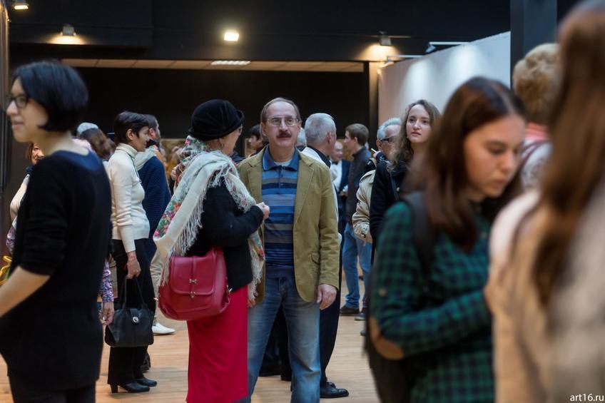 Фото №895100. На открытии выставки Надира Альмеева