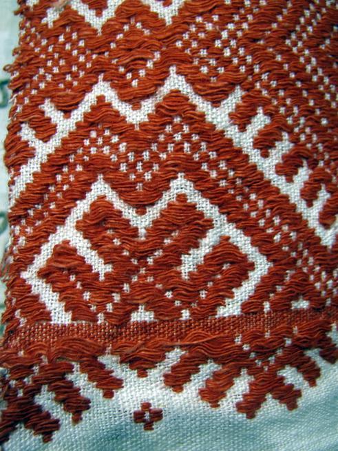 Ручное ткачество. Узор «Казанского полотенца»::Казанское полотенце